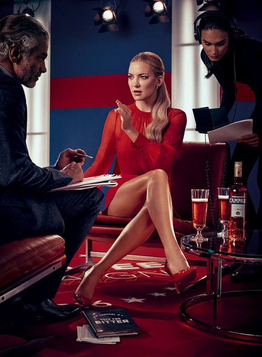Кейт Хадсон в календарі Campari