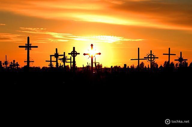 Цікаві місця Литви - Гора Хрестів