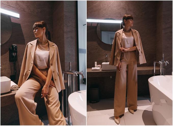 Женский брючный костюм в коллекции украинского бренда One by One