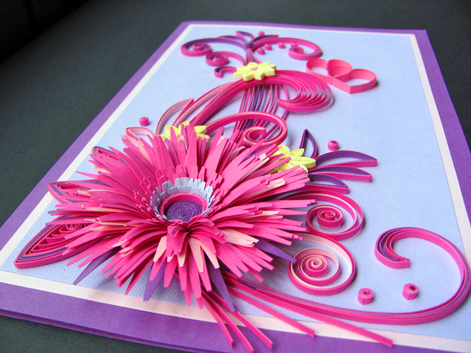 Цветы на 8 Марта из бумаги