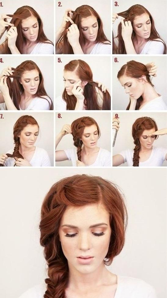 Швидкі зачіски для довгого волосся