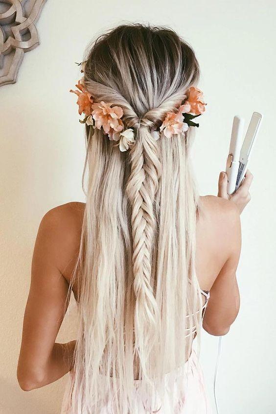 Зачіски на довге волосся