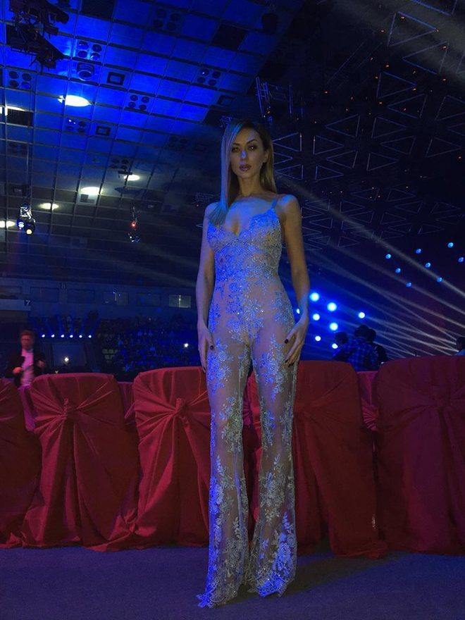 Наталья Валевская и голое Платье