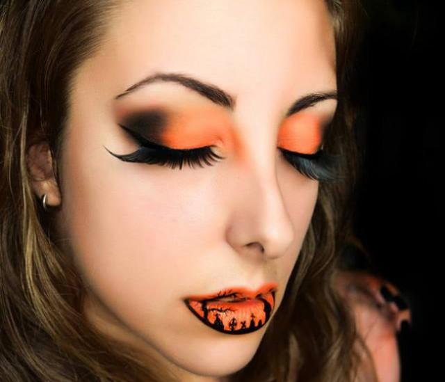 Крутые губки на Halloween