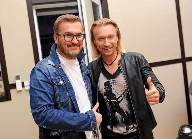 Александр Пономарев и Олег Винник