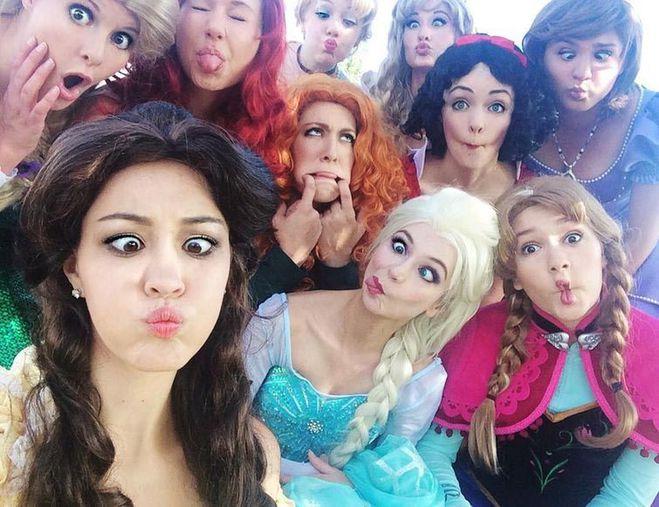 девушка-принцесса из Disney