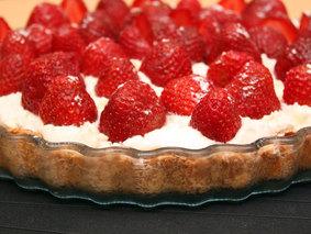 Пироги, рецепты с фото: пирог с клубникой