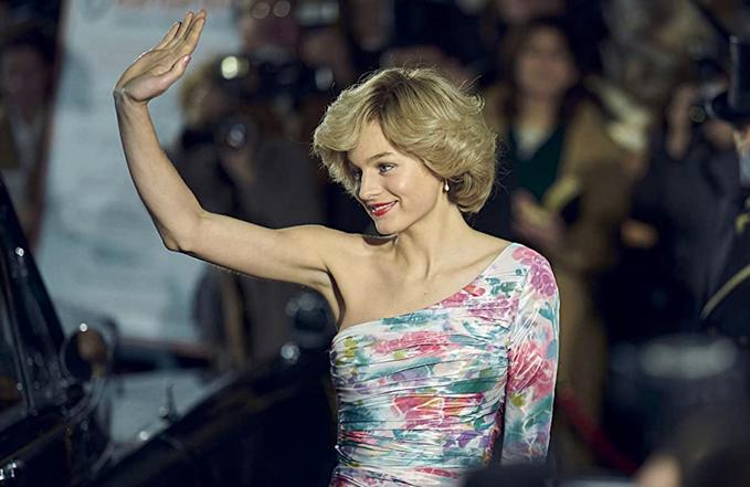 """Эмма Коррин повторила образы принцессы Дианы в 4 сезоне сериала """"Корона"""""""
