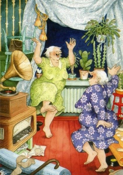 Добродушные старушки