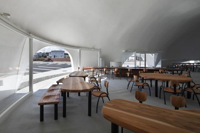 Удивительный ресторан под горой Фудзи