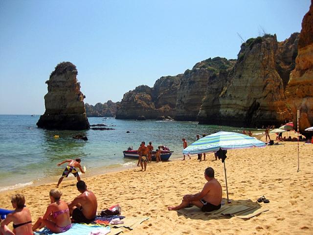 Пляжи Алгарве: Praia da Dona Ana