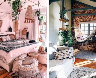 Дизайн интерьера в стиле бохо
