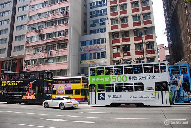 Цікаві місця Гонконгу: трамвай