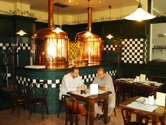 ресторани Праги - Pivovarský dům