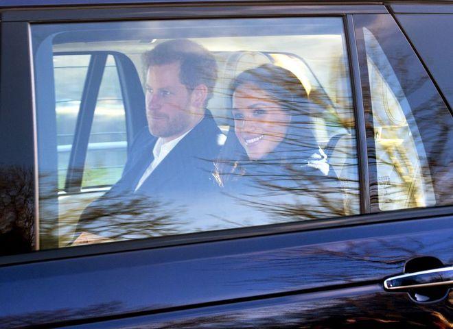 принц Гаррі та Меган Маркл