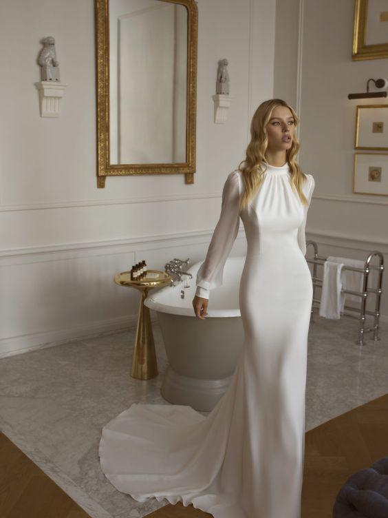 Весільні сукні для нареченої під знаком зодіаку Діва