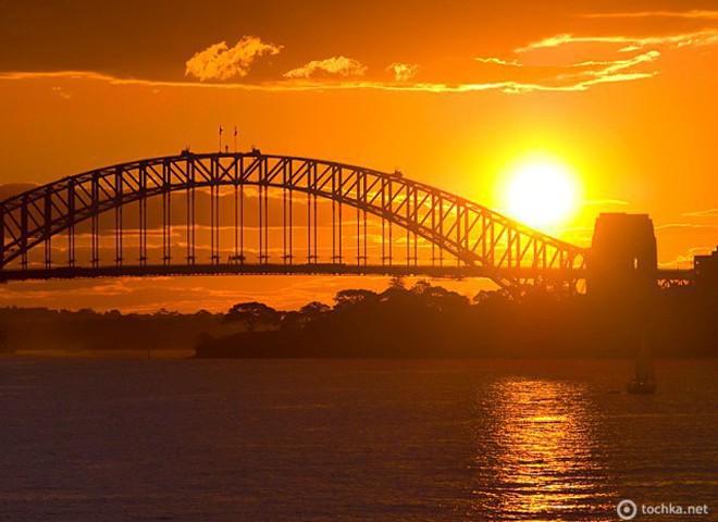 Захід сонця: Сідней, Австралія