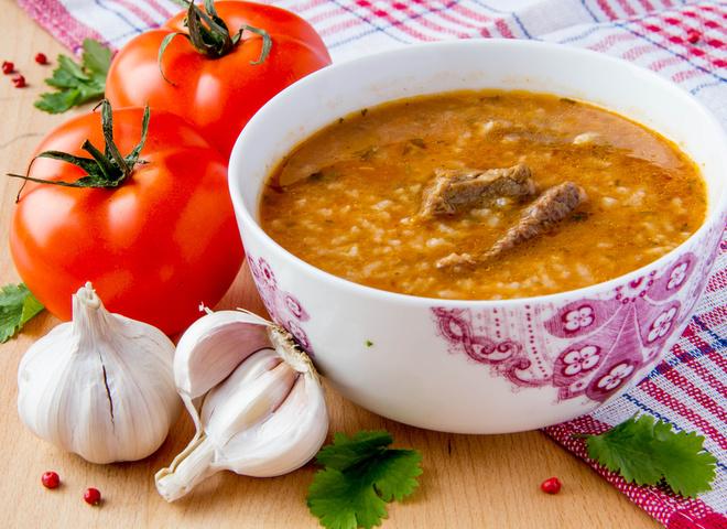 Харчо из говядины грузинский рецепт 5