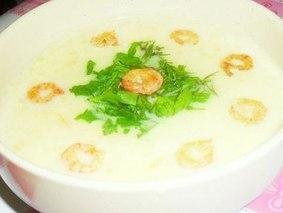 Морской сливочный суп