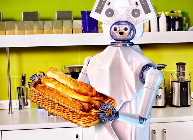 кафе с роботами