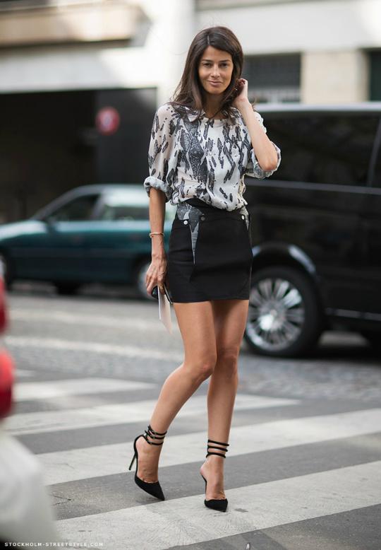 Короткі спідниці: як правильно носити міні