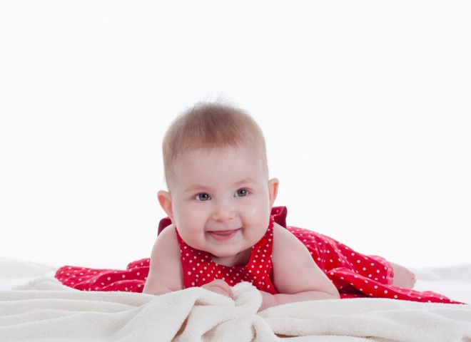Развитие месячного малыша