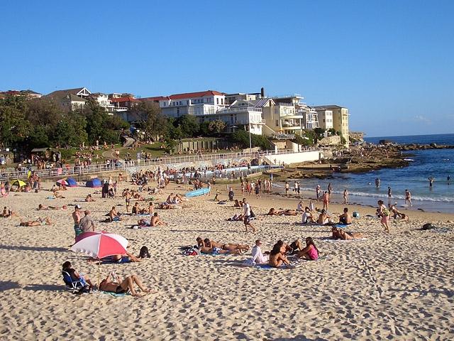 Топ-5 кращих міських пляжів в світі: Бонді пляж, Сідней, Австралія