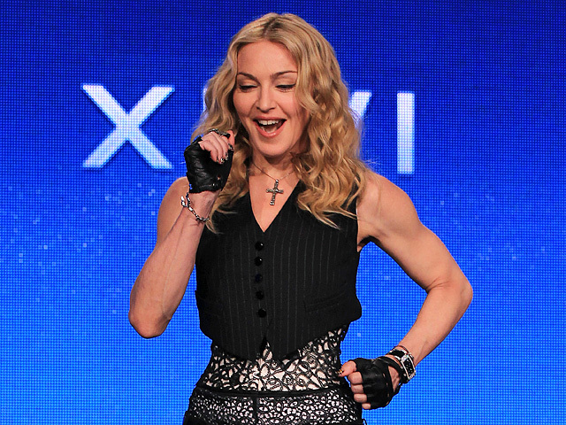 Самые красивые прически Мадонны