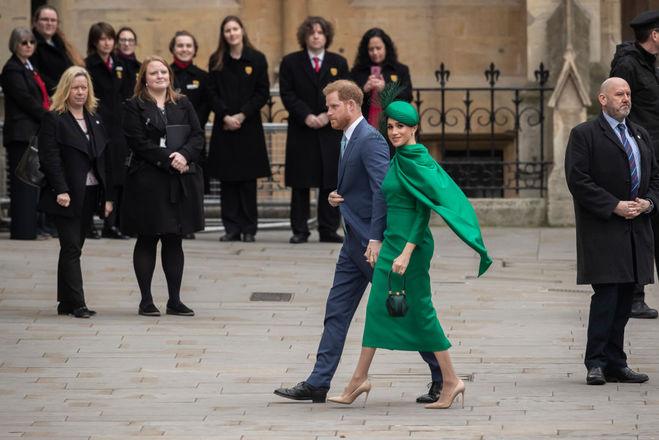 Последний официальный выход Меган Маркл и принца Гарри