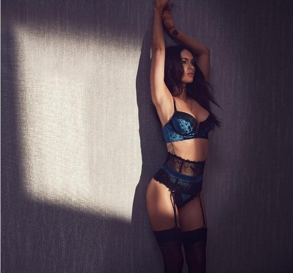 Меган Фокс у фотосесії нижньої білизни