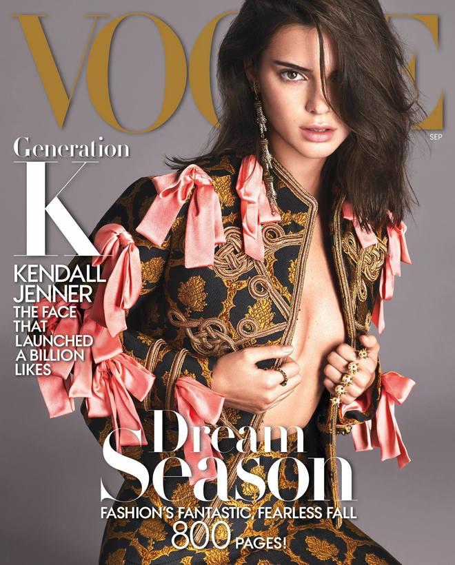 Кендалл Дженнер на обложке Vogue