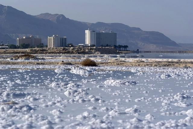 Мертве море, Ізраїль