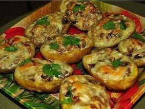 Лодочки из картошки в мундире