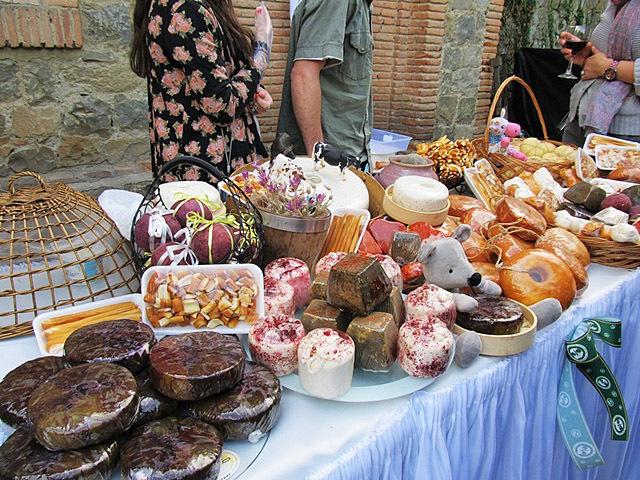 Фестивали Грузии: Фестиваль сыра в Цинандали