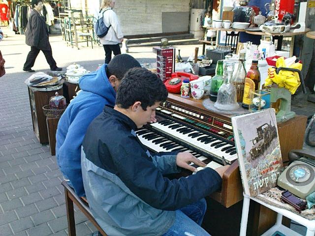 Что купить в Тель-Авиве: рынок Шук а-пишпишим