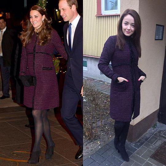 Один в один: британка стала популярной благодаря копированию стиля Кейт Миддлтон