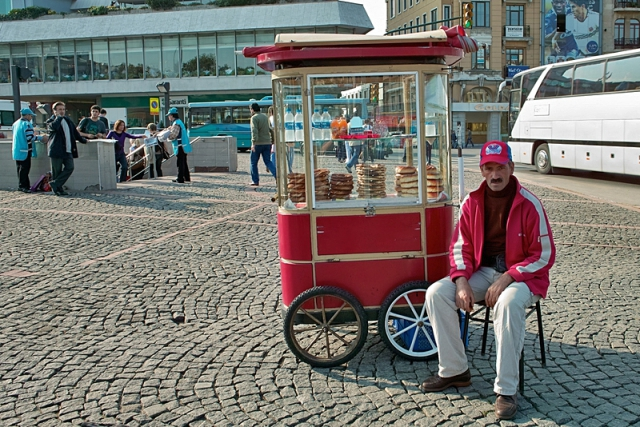 Отдых в Стамбуле. Уличная еда