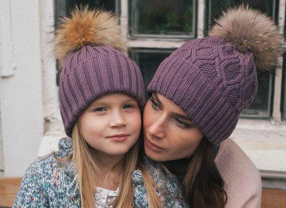вязаные шапки 2018 самые актуальные модели Tochkanet