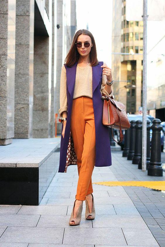 Оранжевый цвет - хит осени 2018