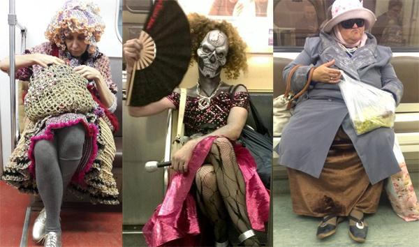Модники в транспорте