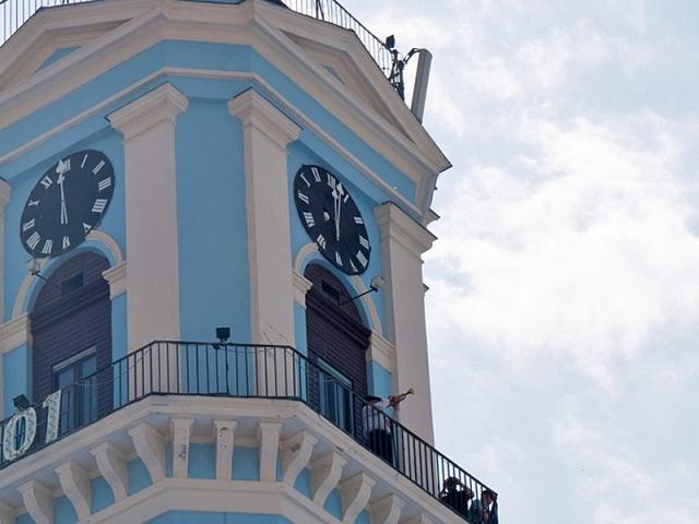 Старовинний годинник України: Чернівецька ратуша