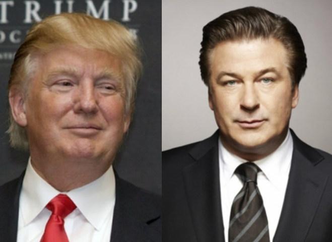 Дональд Трамп і Алек Болдуін