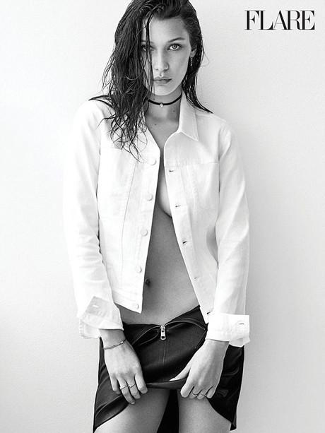 Белла Хадід взяла участь в сексуальній фотосесіїБелла Хадід взяла участь в сексуальній фотосесії