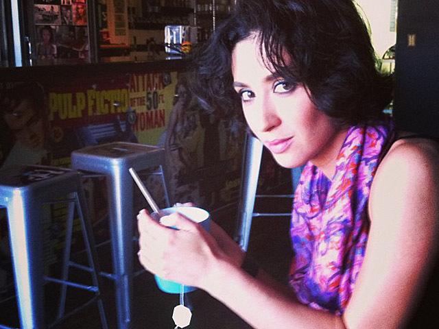 Анна Завальская в США