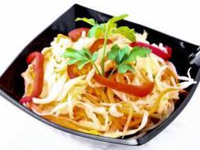 Салат с капусты