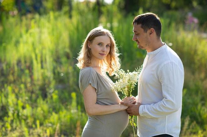 Анна Сагайдачная и её муж Евгений Третяк