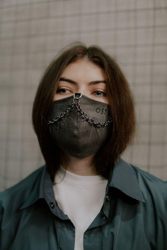 Модные маски многоразового использования