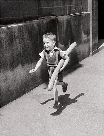 Мальчик с багетик