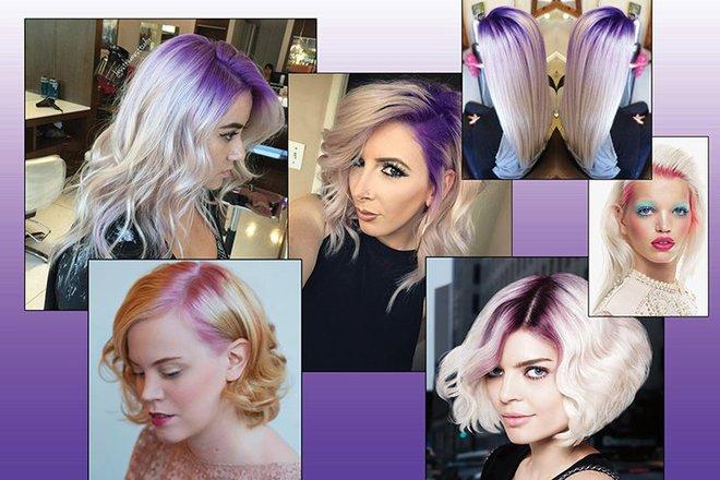 Песня цветные волосы