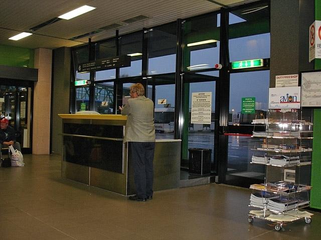 Худшие аэропорты мира: Аэропорт Bergamo Orio Al Serio фото